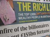 Sunday Times Rich List 2012 RECORD Coincides with Second Global Recession