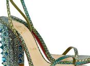 Christian Louboutin Snake Sandals