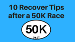 Check Recover Tips After Race