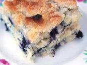 Summer Vegan Blueberry Buckle
