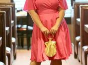 What Wore: Pink Wrap Dress