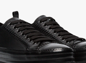 Stitch Time: Demeulemeester Leather Detail Sneakers