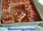 Banana Togurt Bars Recipe
