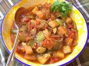 Slow Cooker Summer Ratatouille Stew #FarmersMarketWeek