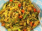 Indian Style Vegetable Fried Rice #FarmersMarketWeek