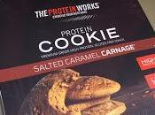 Protein Works Salted Caramel Cookies