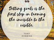 Setting #Goals First Step Turning Invisible Visible