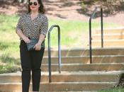 What Wore: Leopard Print Blouse