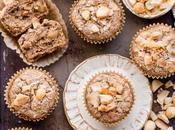 Macadamia Coconut Banana Muffins (Gluten Free Vegan)