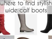 Where Find Stylish Wide Calf Boots