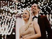 Glamorous Year's Wedding Marianna Andreas