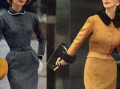 1950s Fashion Slender Fall Dresses 1953
