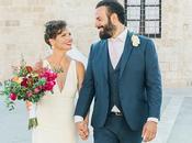 Gorgeous Wedding with Colorful Flowers Courtney Alex
