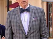 Good Place: Michael's Gray Plaid Suit