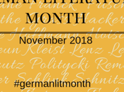 Announcing German Literature Month VIII November 2018