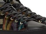 Sumptuously Fall: Paul Smith Multicolor Velvet Sirius High-Top Sneakers