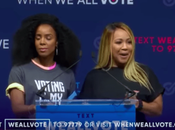 Erica Campbell Helped Rally Students Miami 'When Vote' Event