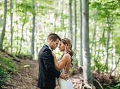 Elegant Mountain Wedding Portaria
