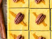 Bake Golden Milk Cheesecake Bars (Gluten Free, Paleo Vegan)