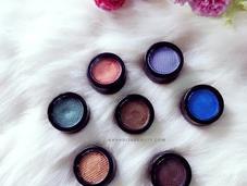 Cosmetics Velvet Eyeshadows Review Universe Collection