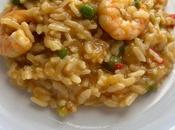 Instant Prawn, Trout Risotto