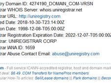 Gab.com Lands Uniregistry