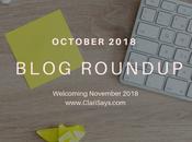 October 2018 Blog Roundup Birthday Month