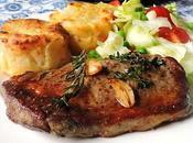 Butter, Herb Garlic Basted Steaks