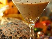 Bourbon Cocktail with Pumpkin Chocolate Liqueur