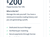 Flippa Pricing Place Looking Verification