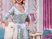 1950s Fashion Winter Dresses 1954