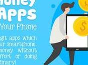 Apps Earning Money With Your Smartphone [Infographic]