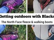 Getting Outdoors with Blacks Millets Women's North Face Walking Boots Fleece Review