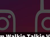 Instagram Walkie-Talkie Voice Messages