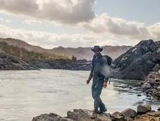 British Adventurer Hike Length Gambia River