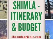 Shimla Travel Diaries from Delhi Itinerary Budget