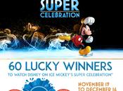Lucky Winners Scratch Their 'Disney Ice'