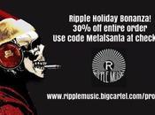 Huge Ripple Music Holiday Sale, Bandcamp YouTube Explore!