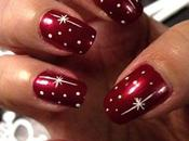 Best Easy Sparkly Glitter Christmas Nail Design Images