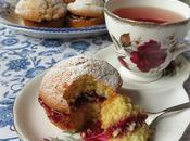 Lemon Cupcakes with Raspberry
