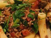 Home Made Lamb Pasta Bolognese