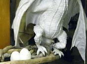 Paper Mache Dragon- Head Scales