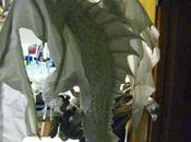 Paper Mache Dragon Pair- Wings