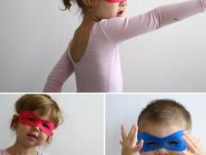 No-sew Superhero Mask ..tutorial