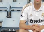 Kaka Wears 2011/2012 Real Madrid Home
