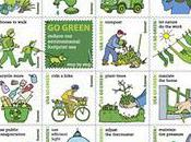 U.S. Postal Service Introduces Green' Stamps