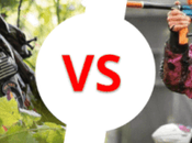 Airsoft Paintball Comparison