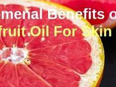 Phenomenal Benefits Grapefruit Essential Skin, Hair More
