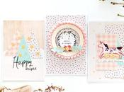 Maggie Holmes Design Team Christmas Pastel Cards