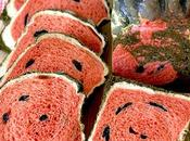 Soft Crusty Superfood Watermelon Sandwich Bread Healthy Savory Option That Made with Beetroot Spirulina